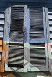 Obturadores de la ventana imagenes de archivo