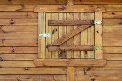 Obturadores de madeira Imagem de Stock