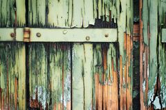 obturadores de madeira arruinados Fotos de Stock Royalty Free