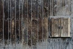 Obturadores de madera Foto de archivo libre de regalías