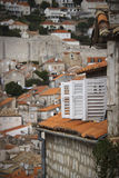 Obturadores em Dubrovnik, Croatia foto de stock