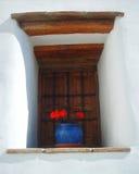 Obturadores espanhóis de madeira rústicos Fotos de Stock