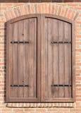 Obturadores fechados velhos da janela Imagem de Stock Royalty Free