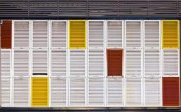 Obturadores múltiplos das cores Fotos de Stock Royalty Free