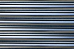 Obturadores metálicos horizontais Imagens de Stock Royalty Free