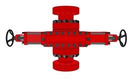 Obturateur d'éruption illustration 3D illustration de vecteur