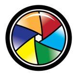 Obturateur de caméra illustration libre de droits