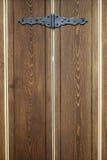 Obturateur en bois d'hublot Images libres de droits