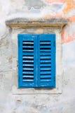 Obturateurs bleus Photo libre de droits
