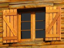 Obturateurs en bois Photographie stock libre de droits