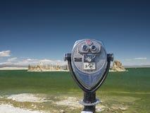 Obuoczny widz Tufa Góruje przy Mono jeziorem, Tufa stanu park narodowy, Mono okręg administracyjny Obraz Royalty Free