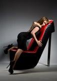 obuwiana dziewczyny pozycja zdjęcie royalty free