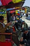 Obuwiani Shiners w Bogota zdjęcie royalty free