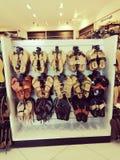Obuwiany stojak obrazy royalty free