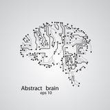 Obwód deski mózg eps 10 Obrazy Royalty Free