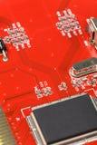 obwód deskowa czerwony Fotografia Stock