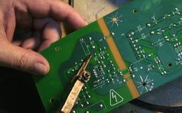 obwód deskowe elektronika Fotografia Stock