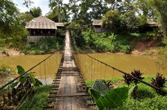 Obwieszenie malezyjski Most Obraz Royalty Free