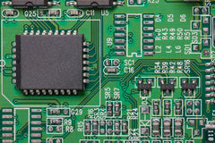 obwodu składnika elektryczny elektroniczny Zdjęcia Royalty Free