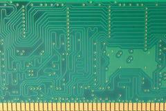 Obwodu wzór na RAM używać dla komputerów Zdjęcia Stock