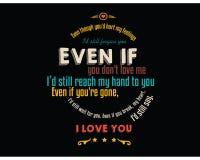 Obwohl Sie ` d Schmerzen meine Gefühle, i-` d Ihnen noch verzeihen vektor abbildung