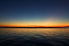 OBX Sonnenuntergang Stockfotos