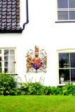 Obyczajowy dom, studnie Następnie morze, Norfolk. Zdjęcia Royalty Free