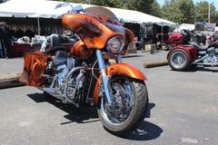 Obyczajowy Harley Davidson Zdjęcie Stock