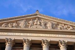 Obywatel Archiwizuje budynek w washington dc, usa obraz stock
