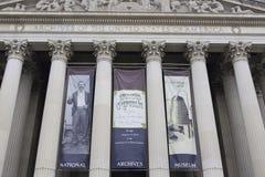 Obywatel Archiwizuje washington dc obrazy stock
