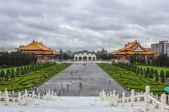 Obywatel Chiang Kai-shek Memorial Hall jest krajowym zabytkiem, punktem zwrotnym i atrakcją turystyczną wyprostowywającymi ku pam zdjęcie royalty free