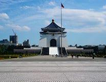Obywatel Chiang Kai-shek Memorial Hall w Taipei Tajwan obrazy royalty free