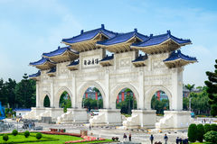 Obywatel Chiang Kai-shek pomnik Taipei, Tajwan, - fotografia stock