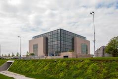 Obywatel i biblioteka uniwersytecka w Zagreb zdjęcia royalty free