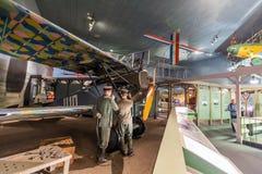 obywatel lotnicza muzealna przestrzeń Washington Fotografia Royalty Free