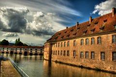 Obywatel szkoła Administation w Strasburskim HDR obrazy stock