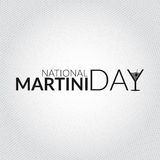 Obywatela Martini dnia karty ilustracja royalty ilustracja
