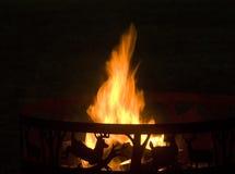 obóz ogień Fotografia Stock