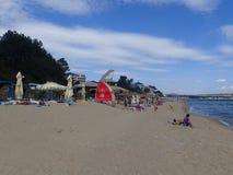 Beach at Obzor, Bulgaria Stock Photography