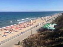 Beach at Obzor, Bulgaria Royalty Free Stock Photos