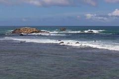 Océan à Galle Images stock