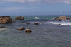Océan à Galle Photos libres de droits