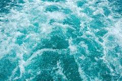 Océan éclaboussant des vagues Photo libre de droits