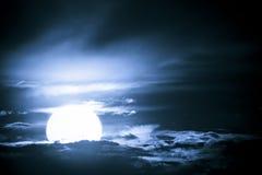 Océan 2 de ciel Images libres de droits