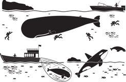 Océan illustration de vecteur
