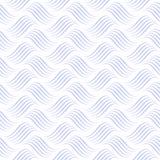 Océan abstrait de vecteur Fond blanc Configuration sans joint de vecteur illustration de vecteur