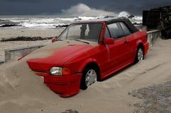 Océan atlantique orageux Images stock