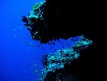 Océan bleu Images libres de droits