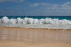 Océan bleu Photographie stock libre de droits