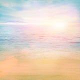 Océan d'été Photographie stock